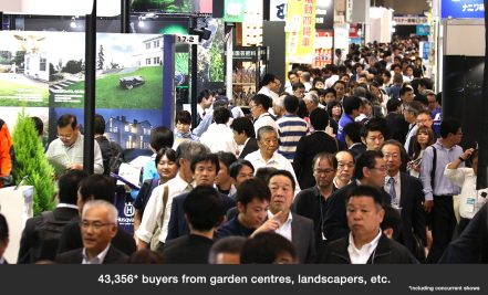 43,356 buyers from garden centres, landscapers, etc.